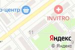 Схема проезда до компании Твой Городок в Новосибирске