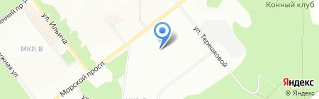 Детский сад №305 на карте Новосибирска