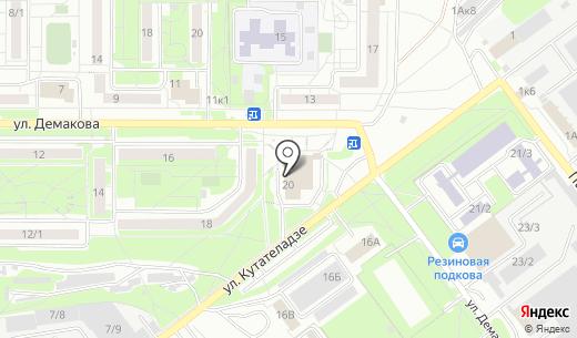 Астера Арт. Схема проезда в Новосибирске