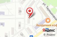 Схема проезда до компании Обо Всём в Новосибирске