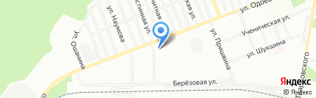 Корзинка на карте Новосибирска