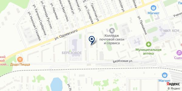 LMY на карте Новосибирске