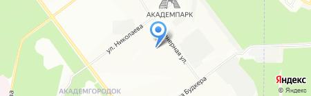 ОПТЭК на карте Новосибирска