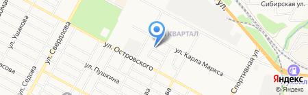 Белорусские кухни на карте Бердска