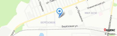 Амбарчик на карте Новосибирска