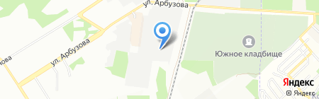 СПАРТА на карте Новосибирска