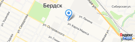 Копировальная Техника Сибири на карте Бердска