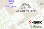 Схема проезда до компании АэМэС-Плюс в Новосибирске