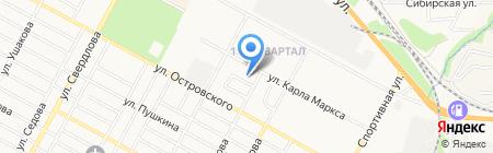 Детский сад №19 Шустрик на карте Бердска