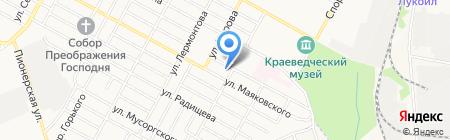 Мастерская автоэлектрики на Маяковского на карте Бердска
