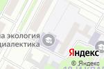 Схема проезда до компании Новосибирская театральная школа в Бердске