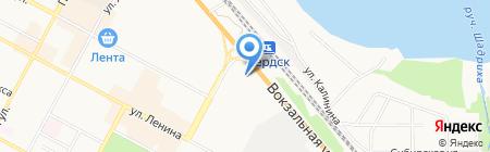 Кедр на карте Бердска