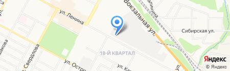 СПЕЦТЕХНОЛОГИИ на карте Бердска