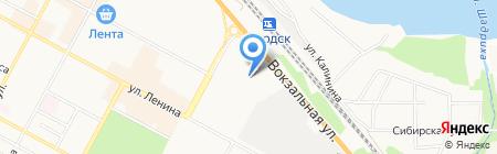 Детский сад №17 на карте Бердска