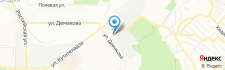 НОВАТОР на карте Новосибирска