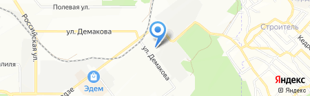 Дипломат-НСК на карте Новосибирска