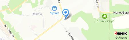Институт археологии и этнографии СО РАН на карте Новосибирска