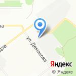 ВИТАВИ на карте Новосибирска