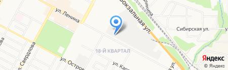 ДиО на карте Бердска