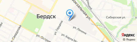 Вега-Лазер на карте Бердска