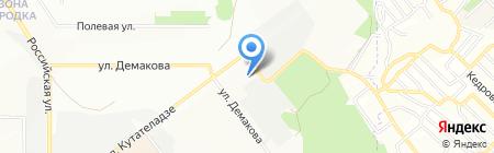 СТЭЛК на карте Новосибирска