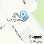 Арсенал на карте Новосибирска