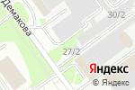 Схема проезда до компании MAYKOR в Новосибирске