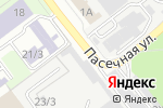 Схема проезда до компании Пчелка в Новосибирске