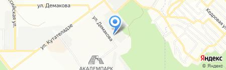 Академ-Недвижимость на карте Новосибирска
