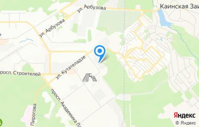 Местоположение на карте пункта техосмотра по адресу г Новосибирск, ул Демакова, д 30/2