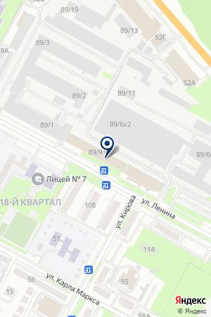 АГЕНТСТВО НЕДВИЖИМОСТИ РЕГИОН КЛЮЧ на карте Бердска