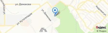 МОНТАЖСПЕЦСТРОЙ на карте Новосибирска