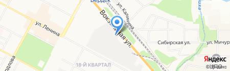 Диск Мастер на карте Бердска