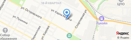 Централизованная Библиотечная Система г. Бердска на карте Бердска