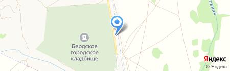 Мемория на карте Бердска