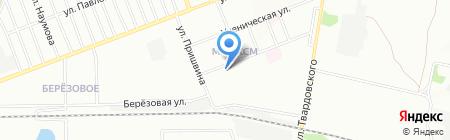 ТЦ 16 на карте Новосибирска