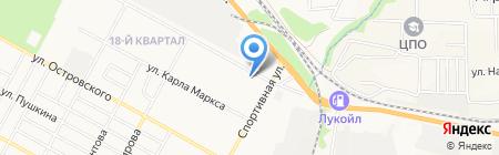 Радужный на карте Бердска