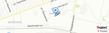ДиМакс на карте Новосибирска