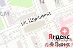 Схема проезда до компании Продукты Ермолино в Новосибирске