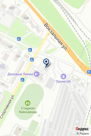 АВТОМОЙКА ШАДРИХА на карте Бердска