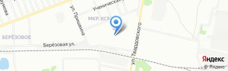 Детский сад №447 Семицветик на карте Новосибирска