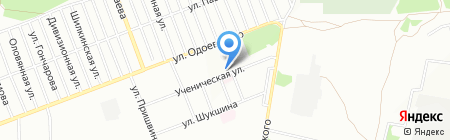 Рамос на карте Новосибирска