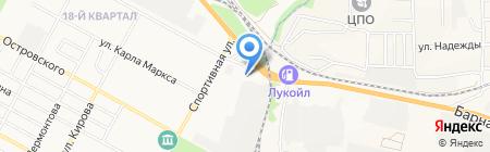 АЗС Промсиб на карте Бердска