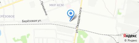 Лихачевский кондитерский комбинат на карте Новосибирска
