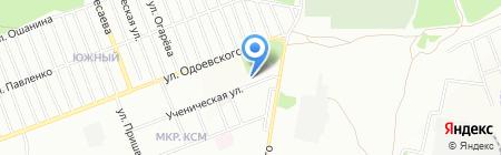ОникС на карте Новосибирска
