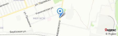 Мария-РА на карте Новосибирска