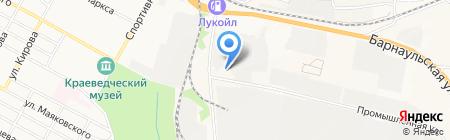 Грандтехсервис на карте Бердска