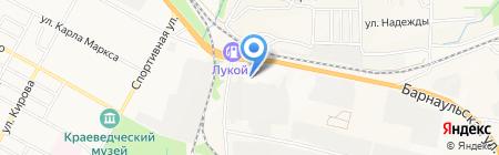 Банкомат Банк Левобережный на карте Бердска