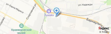 ТехДеталь на карте Бердска