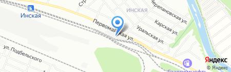МОТОР Центр на карте Новосибирска
